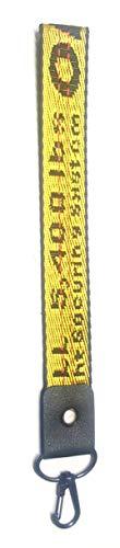 Carter Henc Portachiavi Industriale Portachiavi, Cintura Industriale Portachiavi, Portachiavi In Nylon Industriale Telefono Mobile Portachiavi Lettera Ricamo Tela Portachiavi X 1