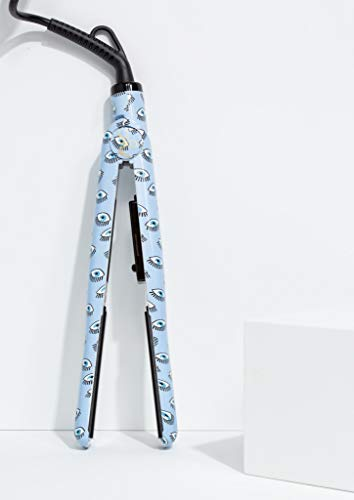 PYT Titanium Styling - Plancha de pelo (alisado rápido y rizos), color azul