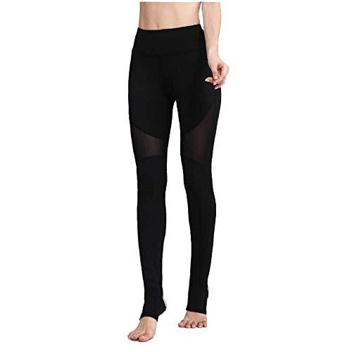 N/D YUJIAKU Comfortabele Fitness Yoga Broek Hoge Taille Om Heup Mesh Leggings Oefening Fitness Broek