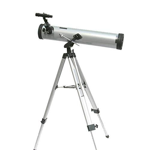 Telescopio Astronómico + Alcance de Viaje Monocular Telescopios Refractores Astronómicos para Niños Adultos Principiantes, Distancia Focal 700Mm, Buscador Espejo 5X24