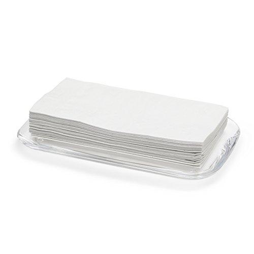 Umbra DROPLET SCHMUCK- UND MAKE UP ABLAGE TRANSPARENT Acryl 25 x 15 x 2 cm