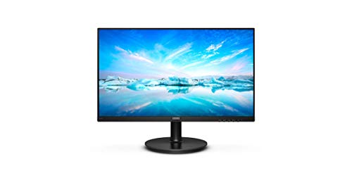 Philips Monitor 221V8/00 Pantalla para PC de 22' FHD (resolución 1920x1080, 75Hz, VA, 4 ms, MegaInfinity DCR, AdaptiveSync, Flickerfree, Lowblue, VESA, HDMI)