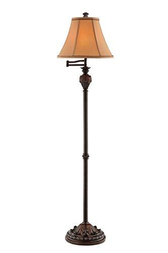 Stein World 99843 Edgeworth Resin Floor Lamp, 60.5