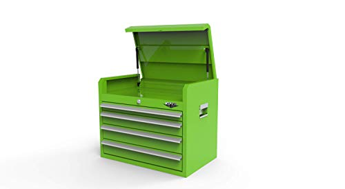 Viper Tool Storage 26-Inch 4-Drawer Steel Top Chest, Lime Green (LB2604C)