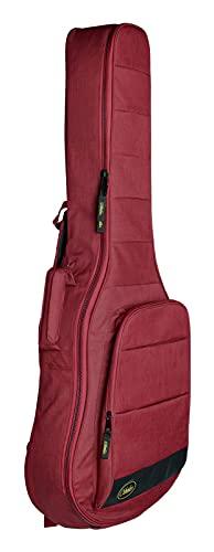Funda para guitarra clásica con acolchado de 25mm, marca Cibeles - Espuma alta densidad (roja)