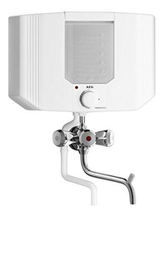 AEG Kochendwassergerät Thermofix KL, 2 kW, 0,2 bis 5 Liter, Kochpunkterfassung, Abschaltautomatik, stufenlose Temperatureinstellung von 35°C bis kochend, Aufheizanzeige, steckerfertig, 228908