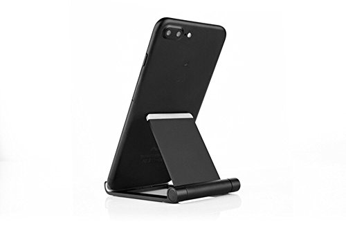 LJM Cell Phone Tablet Stand Holder For Iphone X 8 7 6 Plus Ipad Air Pro Business Travel