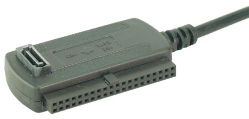 Adapter IDE/SATA auf USB2.0 f.IDE-/SATA-Festplatten c-enter
