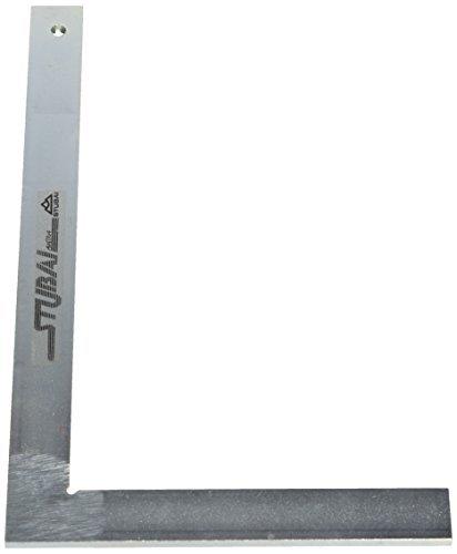 Stubai 263005 Escuadra de cerrajero metálica sin tacón (300 mm), 300mm