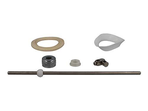 tecuro Zugstange für Exzenter Ab- und Überlaufgarnitur für Waschtische