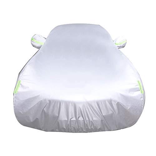 Autoabdeckung Car-Cover Kompatibel Mit Mazda Mazda3 MPS 6 Miata MX-5 Protege Allwetterwasserdicht Und Langlebig Anti-Kratz-Protect Autolack (Color : Silver, Size : MazdaSpeed Miata MX-5)