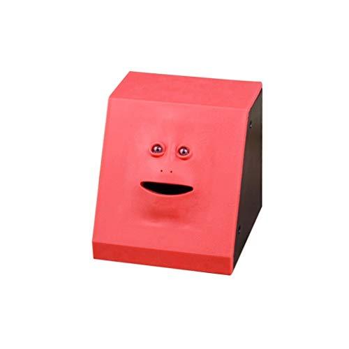 Spardosen Geld essen Gesicht Box FACEBANK Piggy Münzen Bank Lustige Geld Münze Rettung Bank Kinder Spielzeug Geschenk Home Decoration Wohnaccessoires Spardosen Sparbüchsen (Color : ZM1684501)