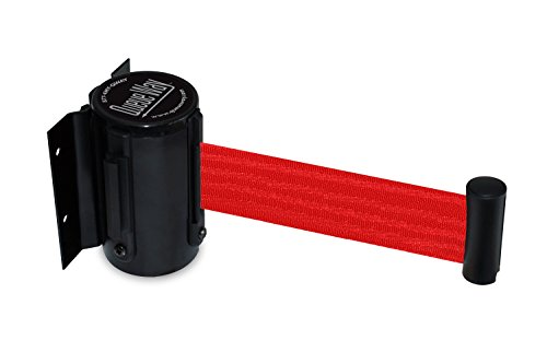 Lawrence metal ROPE-VELR-22-050-2-HOOK-2P Rope Velour 5 Bright Red 5/' Tensator