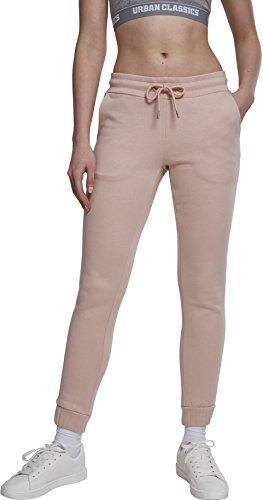 Urban Classics Damen Sweat Sporthose, Pink (Lightrose 00823), W28 (Herstellergröße: M)