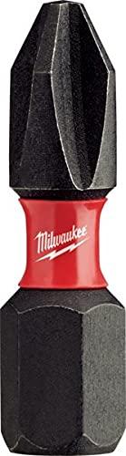 Milwaukee Electric Tool 48-32-4604 Shockwave Impact Duty insert Bit, NO 2, Phillips, 1