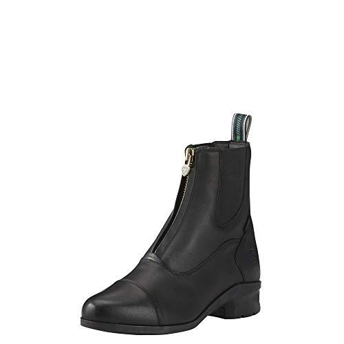 ARIAT Damen Stiefelette Heritage IV Zip Paddock (mit Reißverschluss vorne), schwarz, 6 (39)