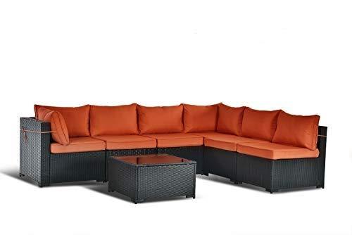 Gotland Sofa Replace Covers (Dark Orange)