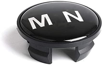 Coche Llantas Tapacubos Centrales Tapas para MINI Cooper S JCW One R55 R56 R57 R60 Countryman R61, ProteccióN Contra El óXido Accesorios