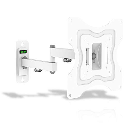 G.B.S. Elettronica ELB-2337/3, Supporto regolabile per Flat-Tv da 23' fino a 37', Livella Integrata, Bianco