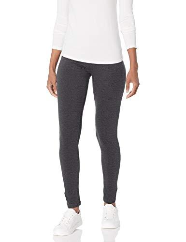 No Nonsense Women's Cotton Legging, Charcoal Grey, S