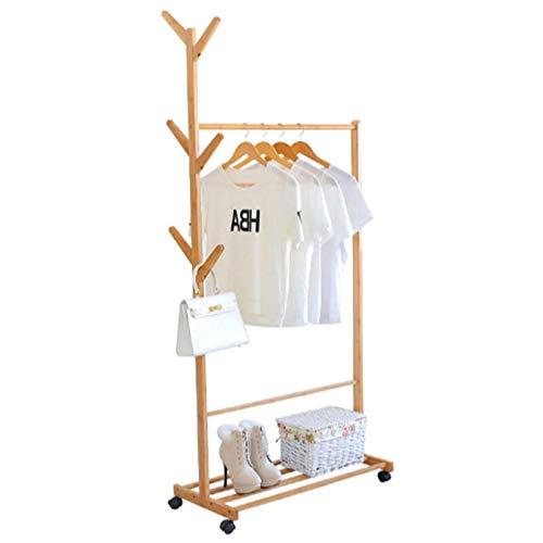 Abrigo Rack Creativo Piso Colgador Dormitorio Europeo multifunción Sala Sala de Estar Soporte Almacenamiento Estante (Color : 80cm)
