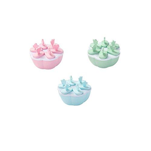 CAOLATOR Creative DIY Lattice Ice Cream Popsicle Moule Crème Glacée Sorbet Maison Ice Couvert Glosé Boîte à Popsicle Outils de Cuisine