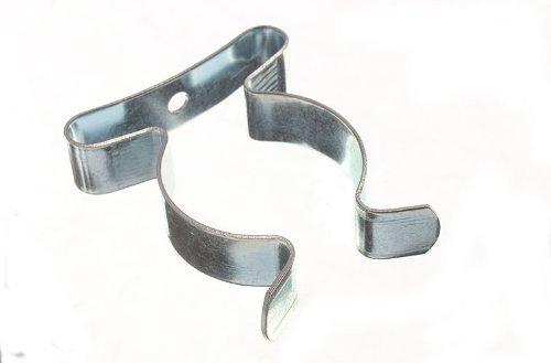 Paquet de 10 matériels de rangement printemps Terry Clips 1 1/4 pouce BZP 32mm