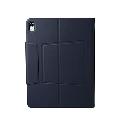GHC PAD Cases & Covers For iPad Pro 11, Bluetooth Wireless Keyboard Smart Case Auto Wake/Sleep Keyboard Flip Leather Case For iPad PRO 12.9 2018 (Color : Dark blue, Size : IPad Pro 11)