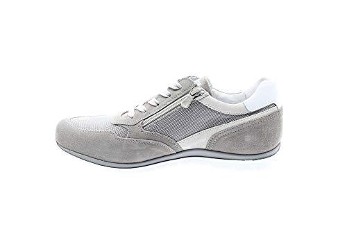 Nero Giardini P900840U/106 Sneakers Scarpe Sportive Uomo Lacci Stringhe Zip Fumo (44 EU)