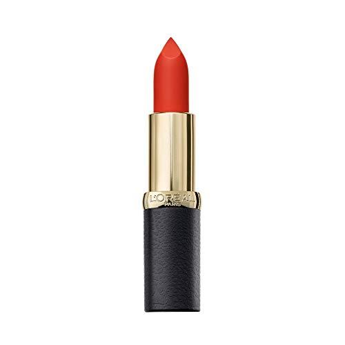 L'Oreal Paris Color Riche Mate Pintalabios, Mate Rojo 358 Lava