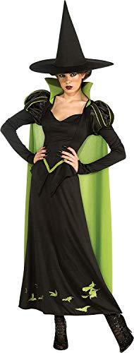 Rubies Wizard Of Oz 75th Anniversary Edition Adult Wicked Witch Of The West, Black/Green, One Size Costume