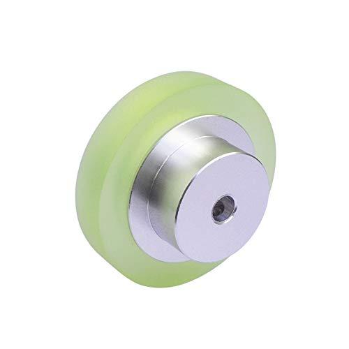 BoMiVa - Aluminum Silicone Industrial OVW Encoder Wheel Meter Measuring Wheel for Rotary Encoder - Dia 40mm hole 6mm