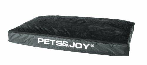 PetsJoy 4.24118 Hundekissen Dog Bed M, 60 x 80 cm, anthrazit