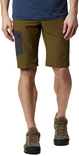 Columbia Triple Canyon Shorts Homme, New Olive, Shar, 36