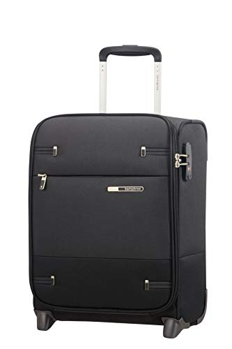 Samsonite Base Boost - Upright S Underseater Handgepäck, 45 cm, 26 L, Schwarz (Black)