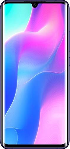 Xiaomi Mi Note 10 lite - Smartphone Débloqué 4G (6.53 Pouces, 6Go RAM, 64Go ROM, Double Nano-SIM) Violet - Version Française [Exclusif Amazon]