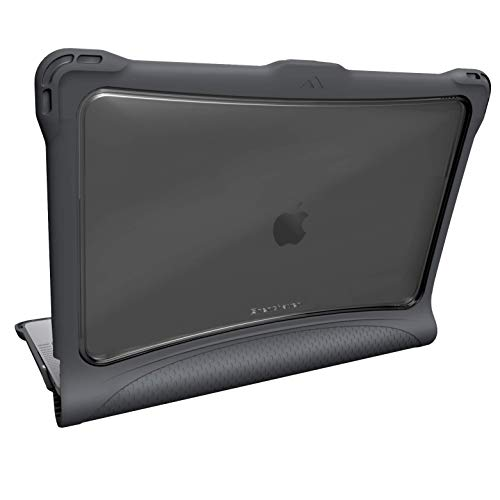 Brenthaven Edge Case Designed for Apple MacBook Air 13 Inch 2019 with Retina True Tone Display for School, Business and Office Use – Gray, Durable, Rugged Protection from Impact and Compression