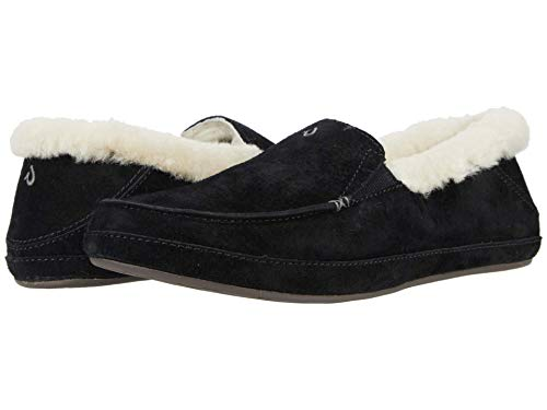OluKai Ku'una Slipper, Women's Slip-On Shoes, Genuine Shearling &...