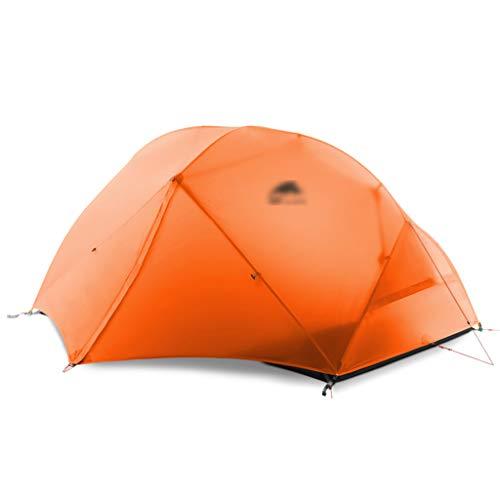 Tiendas de campaña Tiendas de campaña para Acampar Coleman Carpa Doble de Tres Temporadas Carpa de campaña Dosel tormenta de Lluvia Carpa de Sombra Carpa de campaña a Prueba de Viento