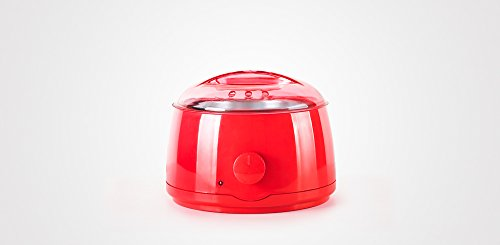 PERFECT BEAUTY FONDEUR DE CERA 400GR Wax Warmer Colour Red 120W, Rouge, Standard