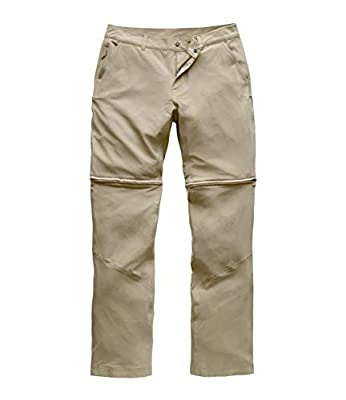 The North Face Women's Paramount Convertible Pant, Dune Beige, Size 8 Regular