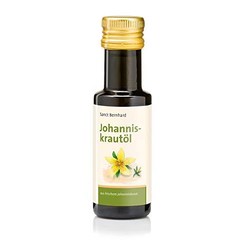 Sanct Bernhard Johanniskrautöl aus frischem Johanniskraut, parfümfrei 100 ml