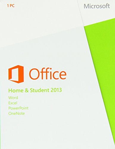 Microsoft Office Home and Student 2013 - 1PC (Product Key Card ohne Datenträger) - englisch