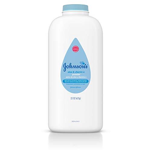 Johnson & Johnson Johnsons Pure Cornstarch Baby Powder