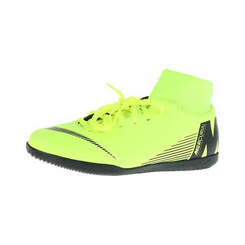 Nike Unisex-Kinder Superfly 6 Club Ic Futsalschuhe, Grün (Volt/Black 701), 37.5 EU