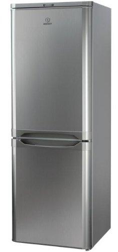 Indesit NCAA 55 NX Autonome 217L A+ Acier inoxydable réfrigérateur-congélateur - Réfrigérateurs-congélateurs (206 L, SN-T, 43 dB, 3 kg/24h, A+, Acier inoxydable)