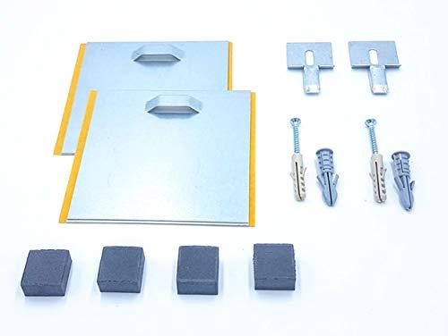 Panel/Mirror Hanging KIT, Acrylic, Forex, Aluminium Dibond. Self-Adhesive - Plaster & Solid Walls - UP to 10KG