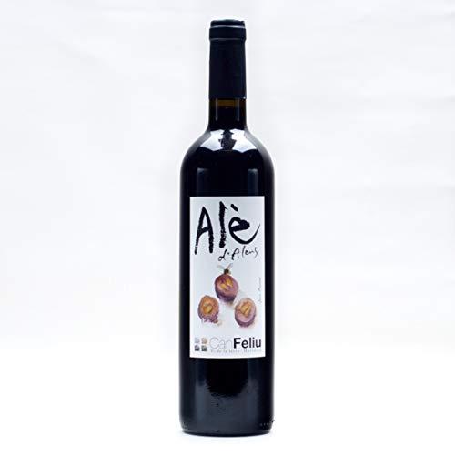 Vino tinto Alè d'Alens ecológico y biodinámico - Can Feliu - Mallorca - 750 ml