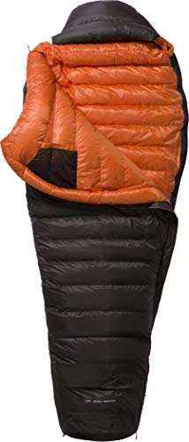 Y by Nordisk Arctic 1400 Schlafsack XL Coffee/orange 2021 Quechua Schlafsack