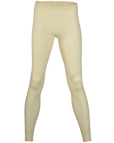 Damen lange Unterhose, 100% Merinowolle (kbT), Gr. 38/40 - 46/48 (38/40, Natur)
